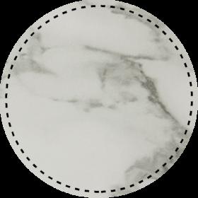 White Marble/Black